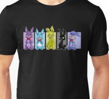 All the Bonnies! (also Springtrap) Unisex T-Shirt