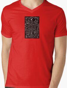 Through the Wormhole Mens V-Neck T-Shirt