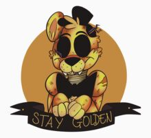 'Stay Golden' Golden Freddy (Five Nights At Freddy's) by Toy-Bonnie