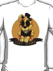 'Stay Golden' Golden Freddy (Five Nights At Freddy's) T-Shirt