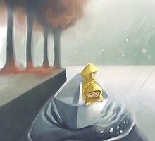 Paper Boat. by Ben Jelfs