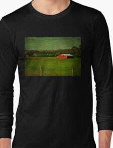 The Red Farmhouse Long Sleeve T-Shirt