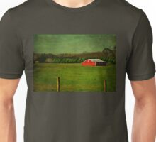 The Red Farmhouse Unisex T-Shirt