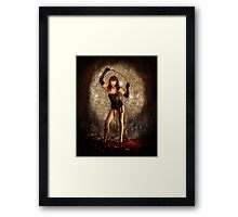 Kitten With A Whip Framed Print