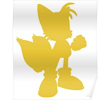 miles Tails prower Poster