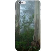 Misty Morning Blue iPhone Case/Skin