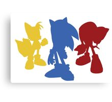 Sonic Team Canvas Print