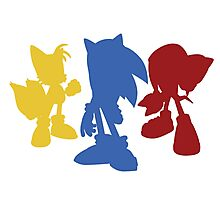 Sonic Team Photographic Print