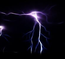 Lightning Flashes by Fred Seghetti