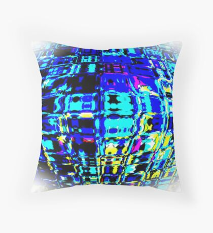 digitally created IX...!  Throw Pillow