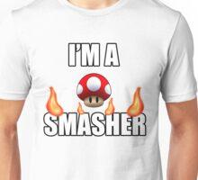 I'M A SMASHER - MARIO Unisex T-Shirt
