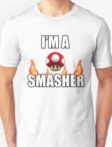 I'M A SMASHER - MARIO T-Shirt