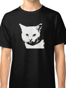 white cat Classic T-Shirt