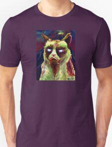 Grumpy Zombie Cat T-Shirt