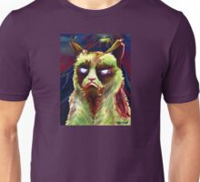 Grumpy Zombie Cat Unisex T-Shirt