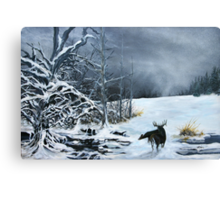 Creatures of the Edge Canvas Print