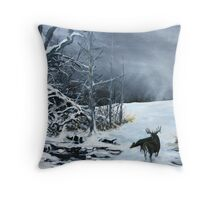 Creatures of the Edge Throw Pillow