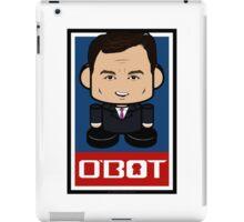 Chris Christie Politico'bot Toy Robot 2.0 iPad Case/Skin