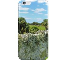 mossy fence iPhone Case/Skin