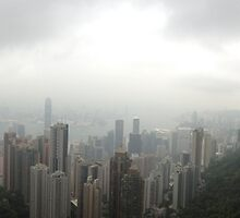 A Cloudy Day in Hong Kong by Robert Phelps