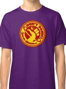 Dudeist Hitchhiker 2  Classic T-Shirt