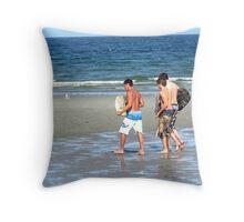 Board Boys Throw Pillow