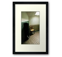 Vincent van Gogh's death-room Framed Print