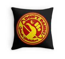 Dudeist Hitchhiker 2 Spaceworn Throw Pillow