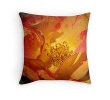 Multi Colored Bloom Throw Pillow