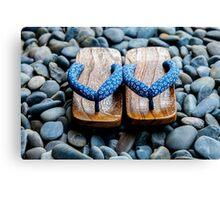 Japanese Sandals Canvas Print