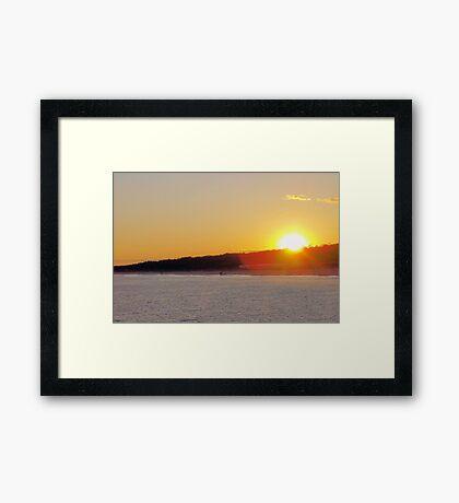 Romeo Sunset 2008 Framed Print