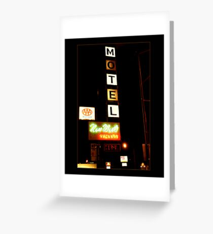 New West Motel Greeting Card