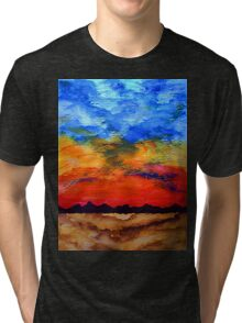 Desert Sunset Tri-blend T-Shirt