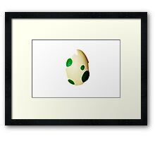 Pokemon Egg Framed Print