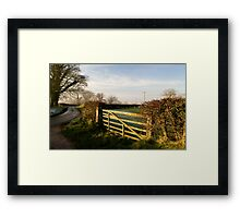 Kirby Underdale Framed Print