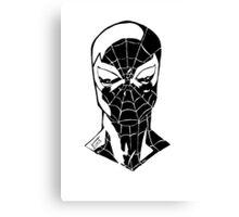 Spider-Man Noir Canvas Print