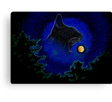 """""""Eating the Moon"""" Canvas Print"""