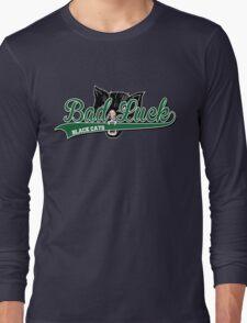 Black Cats Baseball Long Sleeve T-Shirt