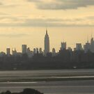 City skylineNy city skyline late afternoon by Jacker