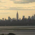 City skylineNy city skyline late afternoon by Jacker