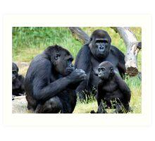 Gorilla Wisdom Art Print