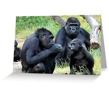 Gorilla Wisdom Greeting Card