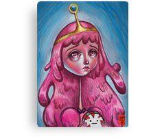 Princess bubblegum - Digital Study Canvas Print