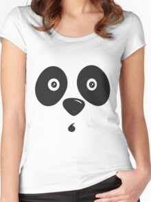 Lindos Osito panda -Wow Women's Fitted Scoop T-Shirt