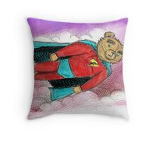 Super Francis Throw Pillow