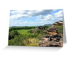 Outback View Greeting Card