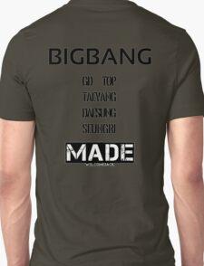 BIGBANG 'MADE' FANMADE Unisex T-Shirt