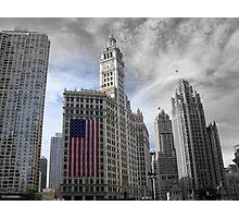 Urban Patriotism Photographic Print