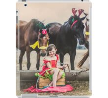 A Merry Country Christmas 3 iPad Case/Skin
