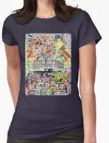 Farewell Dunder Mifflin Womens Fitted T-Shirt